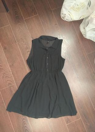Шифоновле платье