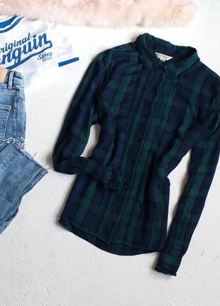 Стильная рубашка в клетку с красивой отделкой с разрезами по бокам от miss selfridge