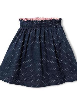 Красивая двухсторонняя юбка tchibo р.98 - 104