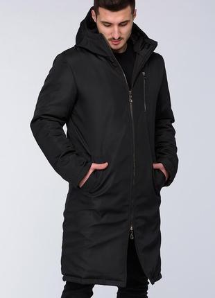 Мужская весенняя удлиненная куртка