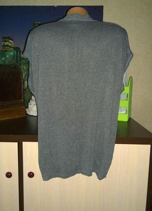 Свободная блуза с драпировкой из трикотажа next2 фото