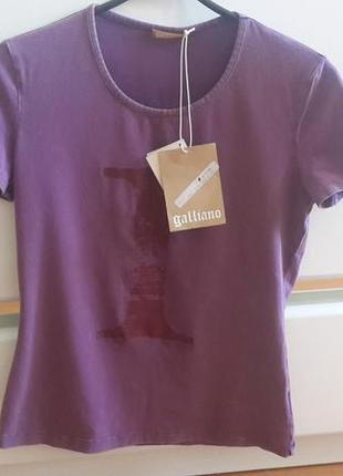 Новая футболка galliano оригинал