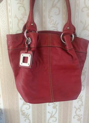 Кожанная сумочка tignanello