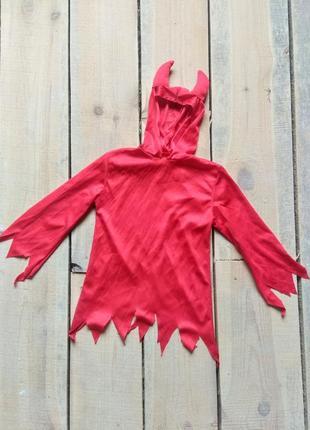 Карнавальный костюм чертенок дьяволенок 3-4 года