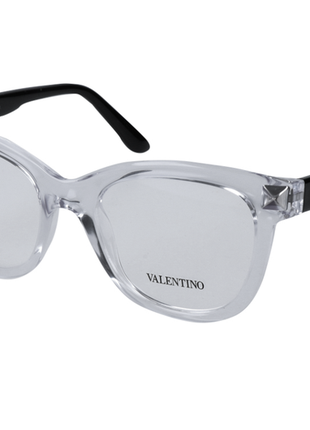 Новая. оправа valentino очки, made in italy. прозрачная/черный лак