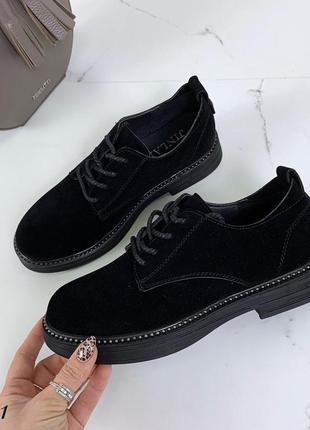 Стильные туфли на низком ходу в шести расцветках 🌈