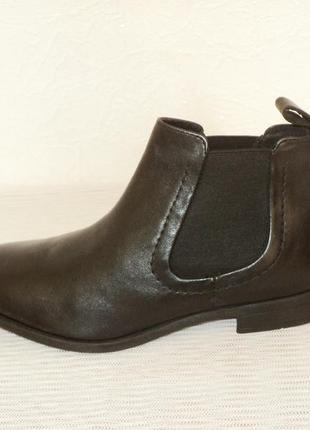 """Кожаные ботинки-челси от """"pier one"""", 41 р (27,7 см)8 фото"""