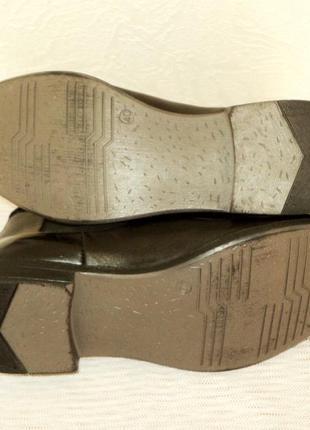 """Кожаные ботинки-челси от """"pier one"""", 41 р (27,7 см)9 фото"""