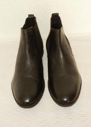 """Кожаные ботинки-челси от """"pier one"""", 41 р (27,7 см)6 фото"""