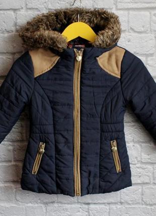 Демисезонная курточка f&f на 3-4 года рост 104 см