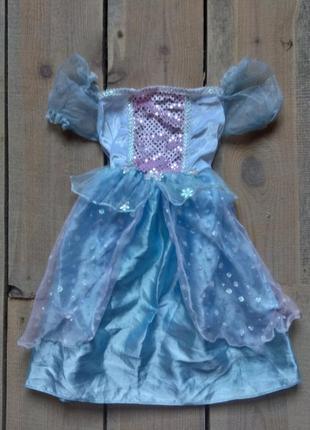 Карнавальное платье принцесса золушка 3-5 лет