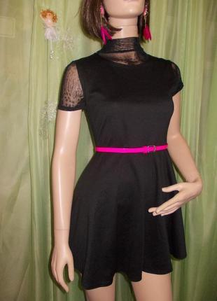 Миленькое черное платье be jealous  под любые аксессуары ♥