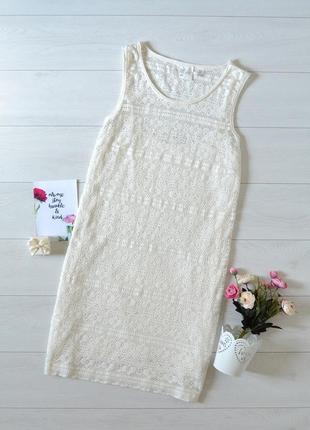 Ніжне ажурне плаття h&m.
