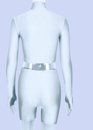 Шикарного качества костюм  из новой неоновой коллекции 2019 тренд3 фото