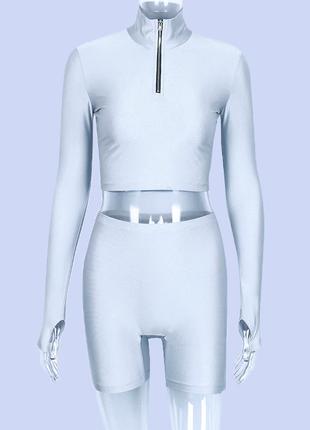 Шикарного качества костюм  из новой неоновой коллекции 2019 тренд2 фото