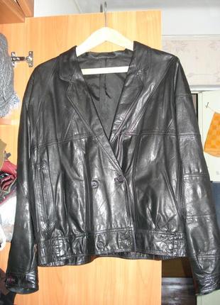 Куртка, пиджак, ветровка, натуральная кожа р. 48-50-52 (20-22-24)
