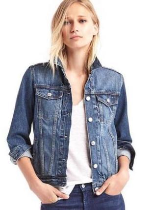 Актуальная джинсовая курточка