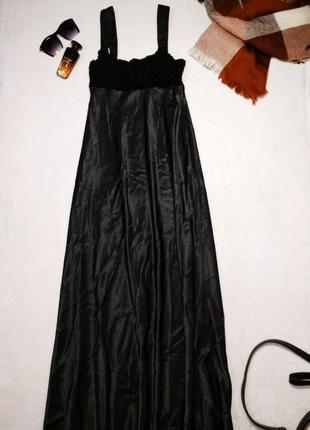 Макси платье в бельевом стиле