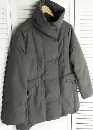Стильная пуховая куртка