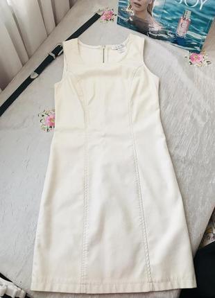 Идеальное платье из эко кожи