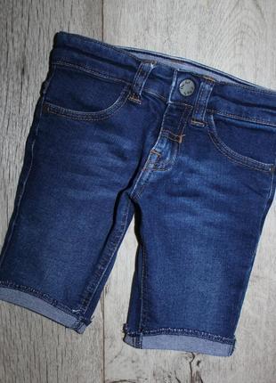 Стильные бриджи шорты джинсовые orchestra 2 года, рост 92 см.