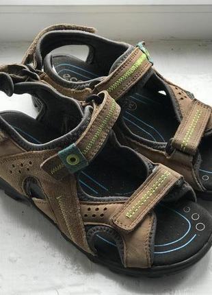 Ecco кожаные босоножки 34р оригинал bf8500e29ce34