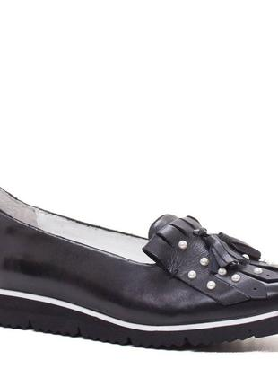 Кожаные туфли gerry weber1 фото