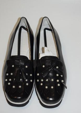 Кожаные туфли gerry weber2 фото