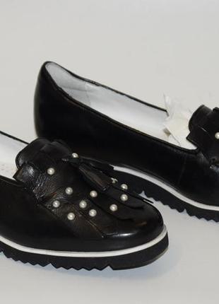 Кожаные туфли gerry weber4 фото