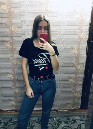 ❣️крутая футболка puma  с интересным принтом