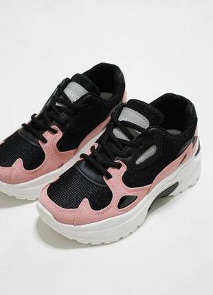 Женские кроссовки (крипперы) на толстой подошве