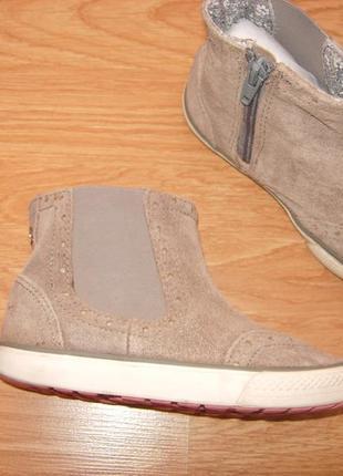Сапоги, полусапоги, ботинки, next, замш, 26 разм