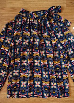 Блуза от бренда tu, цветочный принт