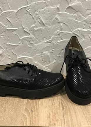 Кожаные ботинки польша распродажа