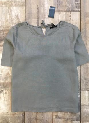 S(38 евр.) женская льняная блуза esmara