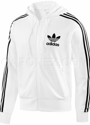 Олимпийка белая с карманами