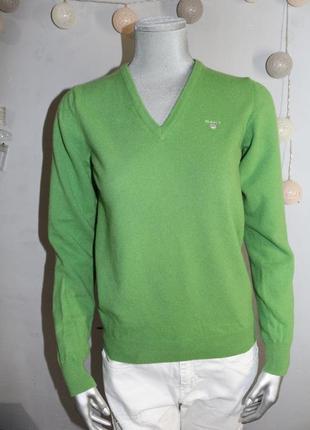 Шерстяной свитер gant