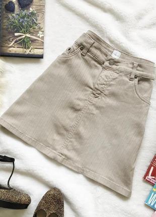 Обалденная мини юбка трапеция new look