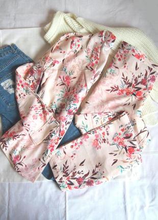 Нежный комплект для сна/пижама/ набор/ костюм/ сет рубашка+брюки debenhams