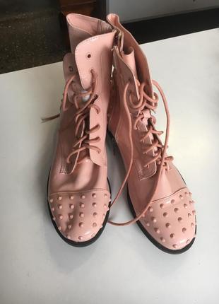 Лакові весняні черевики!!! просто бомба