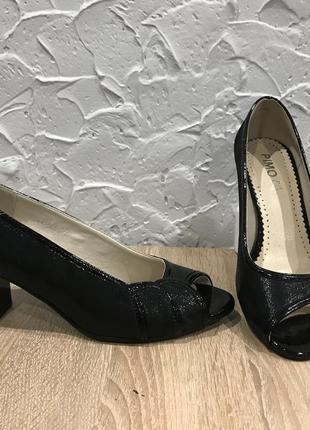 Кожа туфли польша