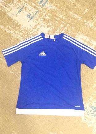 Спорт футболка adidas на 13-14 лет!