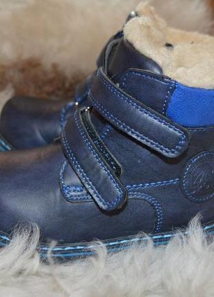 Ботинки с овчиной