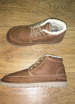 Утепленные деми ботинки zara, оригинал, р-р 33, стелька 21,5 см