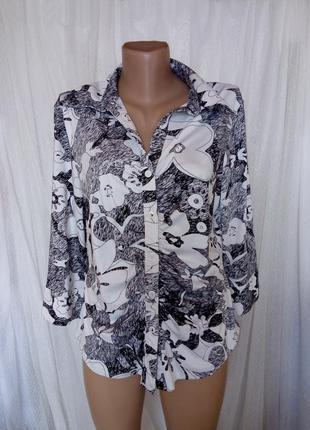 Стрейчевая масляная блуза р