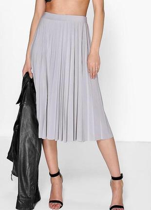 Хит! модная юбка плиссе, новая с биркой