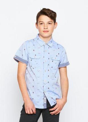Рубашки подростковые для мальчиков.