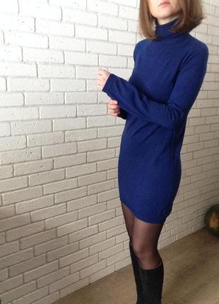 Трикотажное платье s2