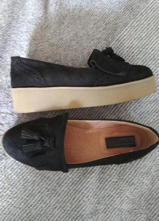 Удобные натуральные туфли