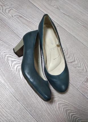 Кожаные туфли туфельки кожа натуральная кожаные